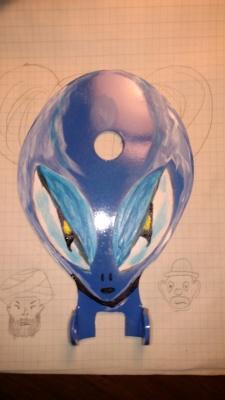 Alien Head (one type of paint scheme)