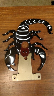 Scorpion Gamo Faceplate