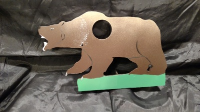 Attacking Grizzly Bear $65