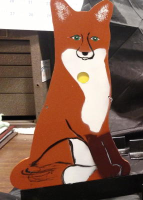 Standard  Size target of the large Fox $65