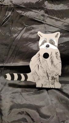Sitting Raccoon $60