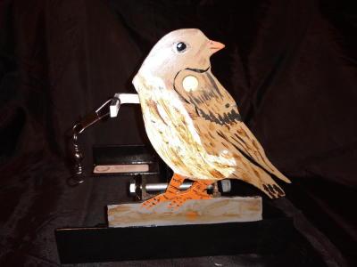 """Sparrow 4 1/4"""" tall  $65"""