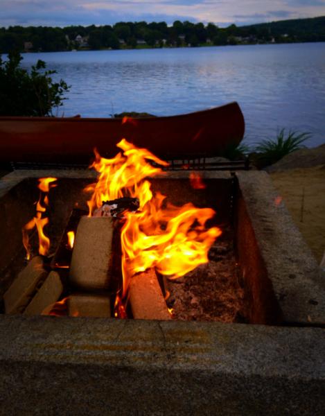Several Pyro Blocks Burning