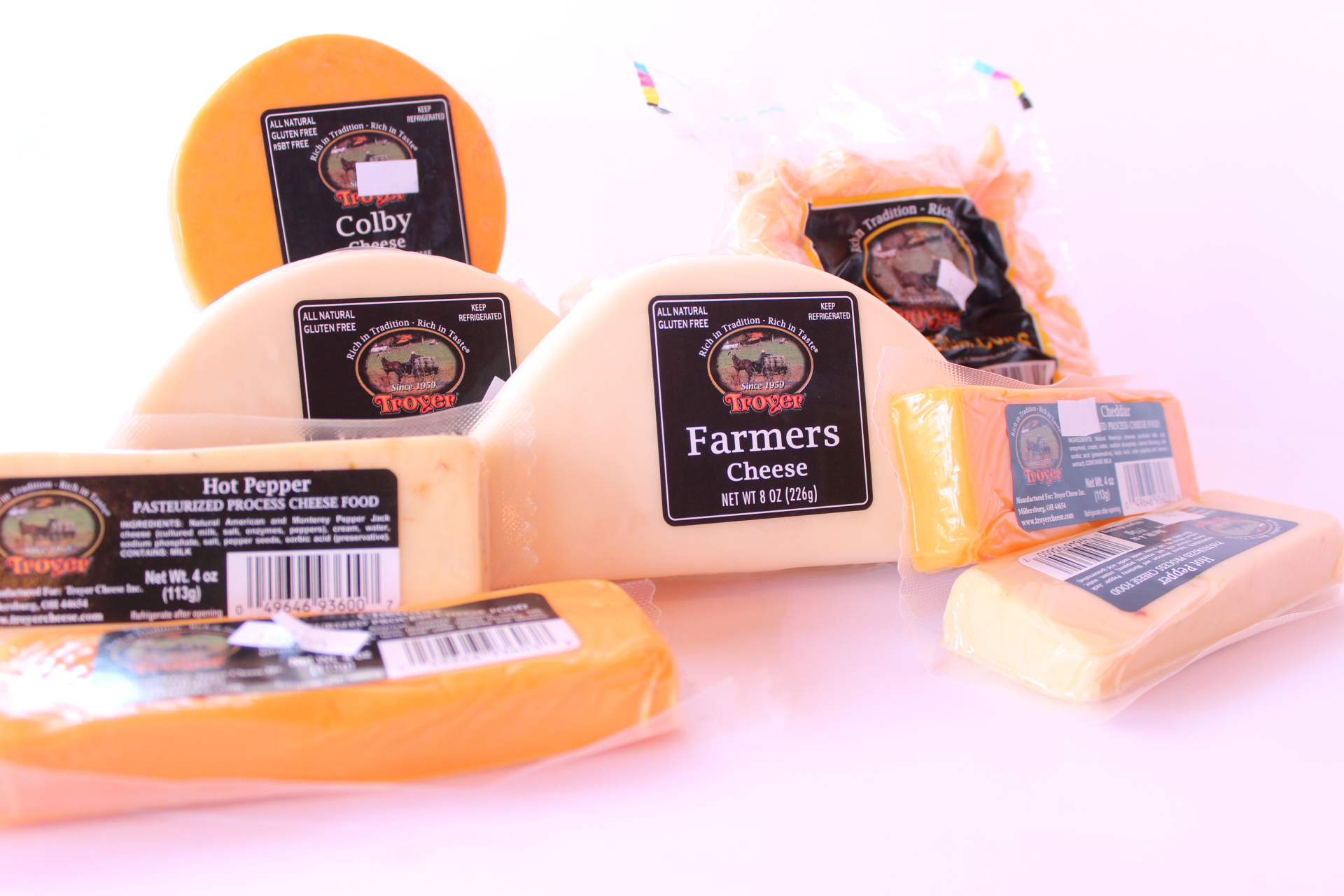 Troyer Variety Cheeses