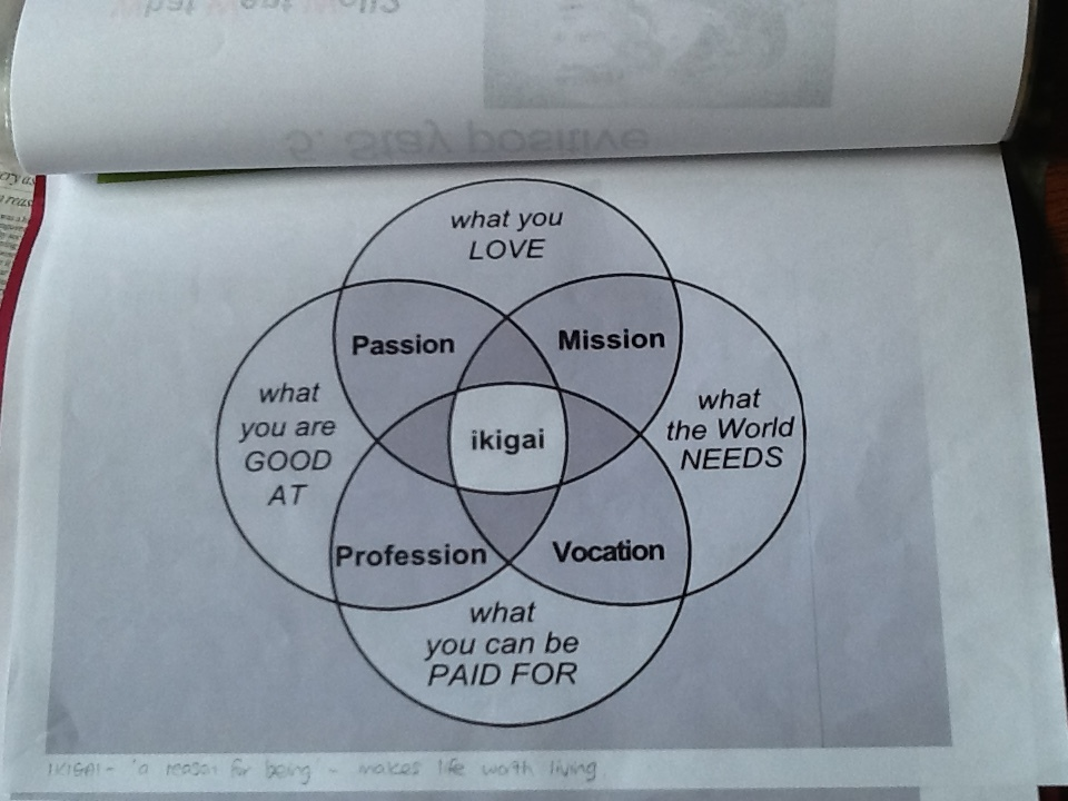 IKIGAI - find your purpose in life