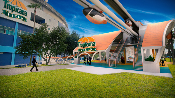 Station Design for Tropicana Field