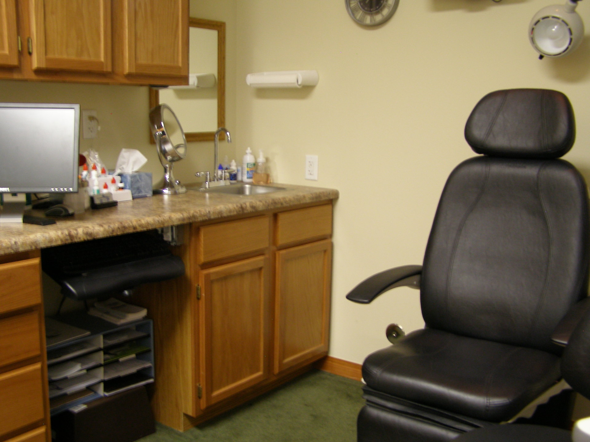 Dr. Ashley Ford's exam office