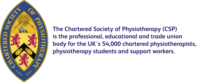 Chartered Society of Physiotherapy (CSP) logo