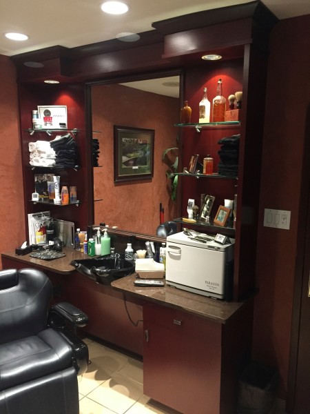 Cabinetry for Barber Shop