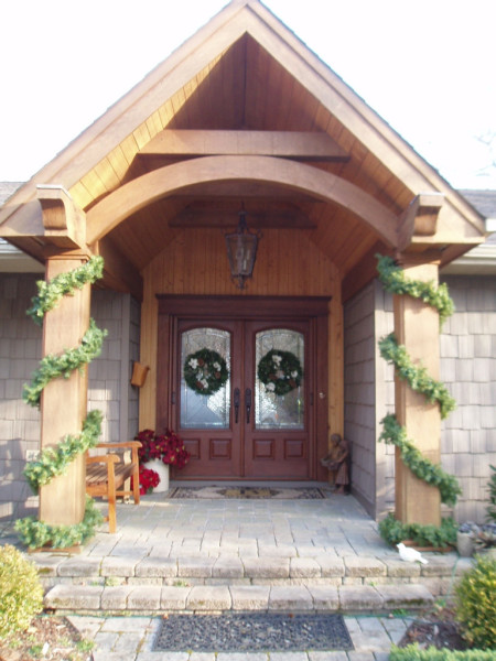 Wood Beam Entry