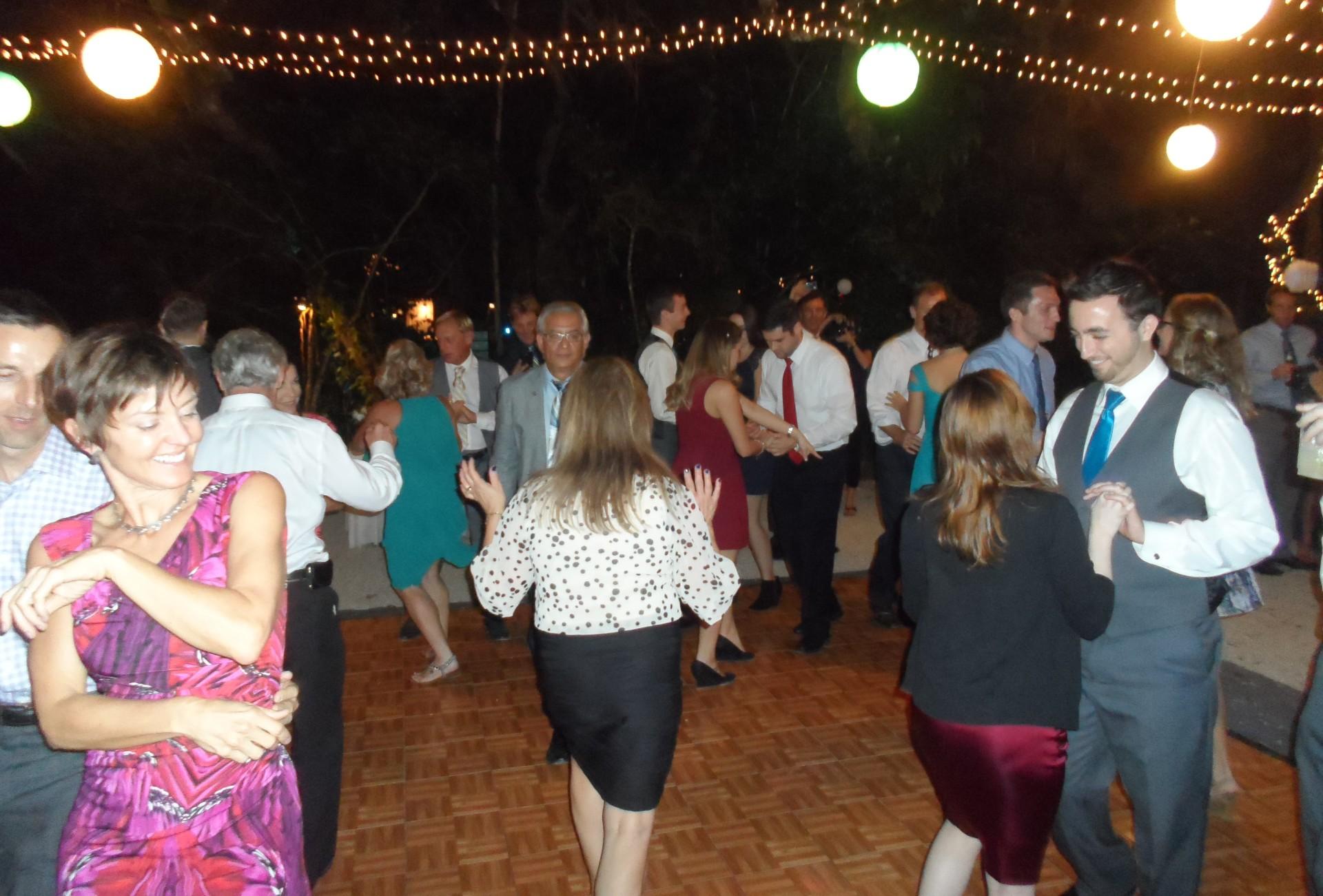 Dancing under the Canopy- Manasota Beach Club
