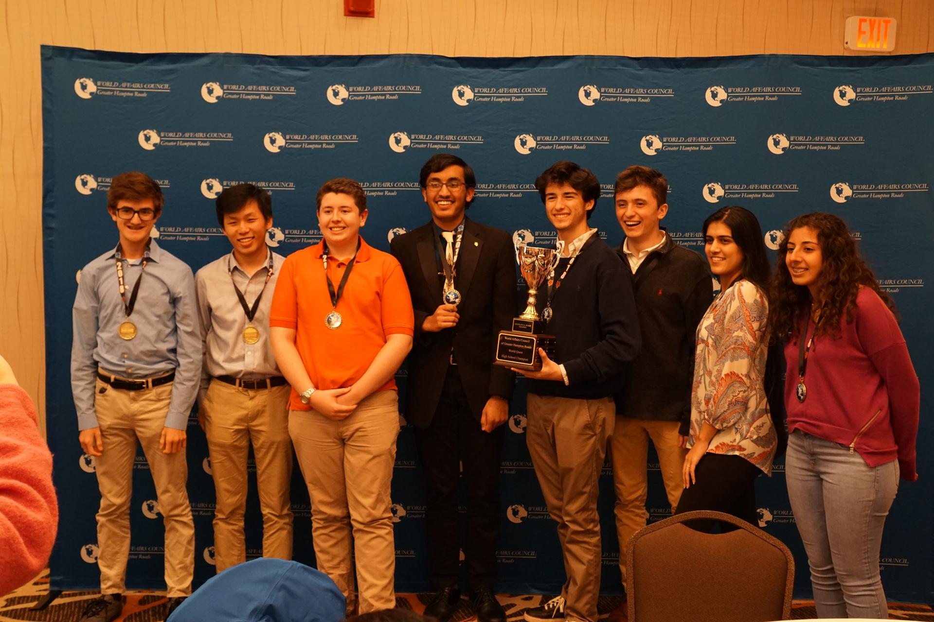 High School Team Winners: Princess Anne High School