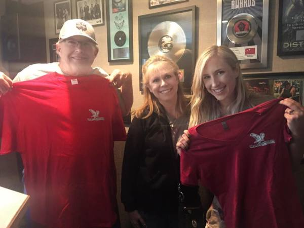Rock 94.5 is the best!  Thank you GA and Roxy for always inviting me to the studio to tell the world what we are doing.  They look adorable in their red Newby-ginnings shirt too!