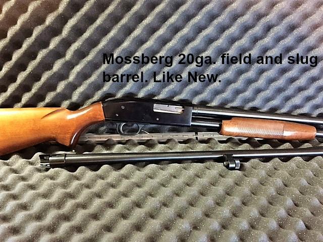 Mossberg, 500, 20ga.