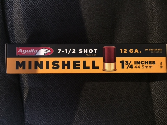 MINI SHELLS  12 GAUGE