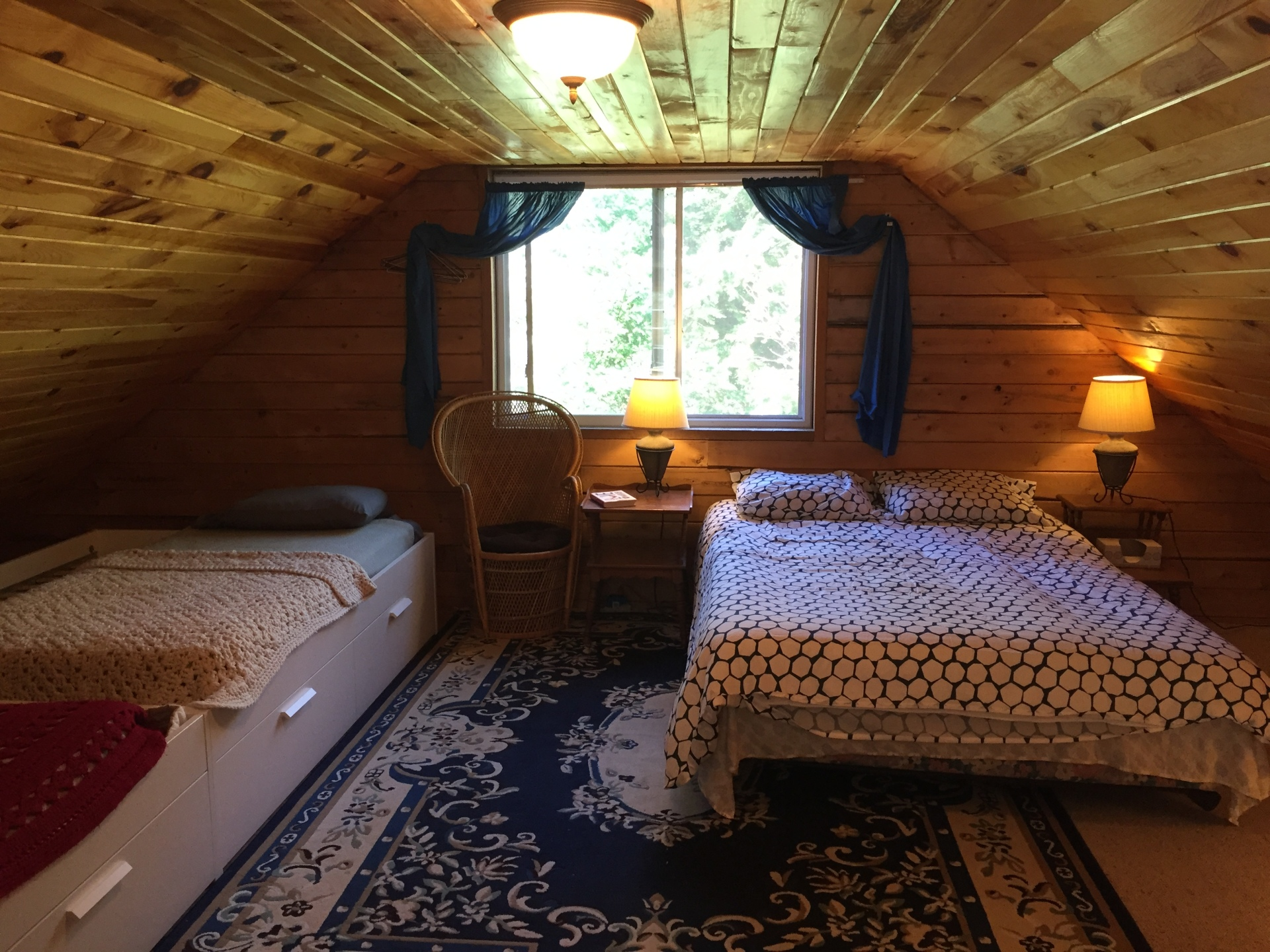 Main Cabin sleeping loft