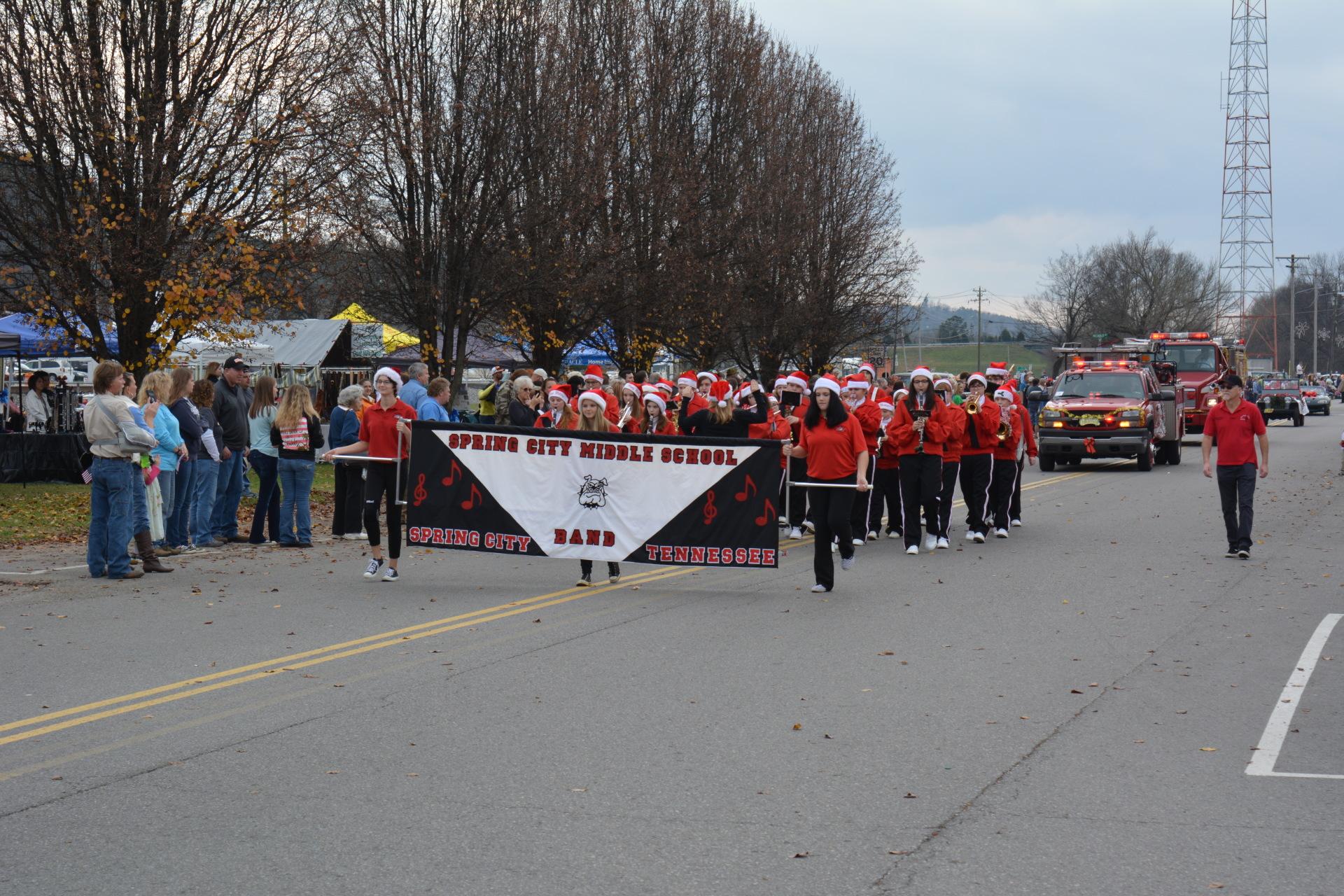 Spring City Christmas Parade
