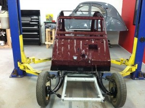 2cv Frame Change time