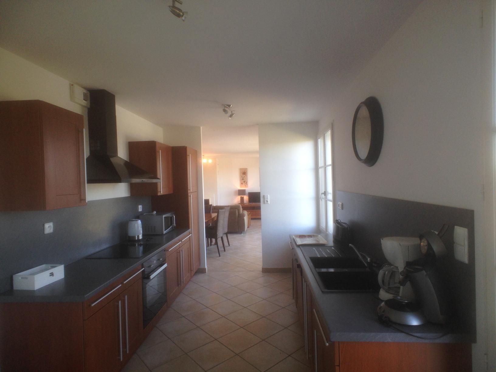 villa alba kitchen