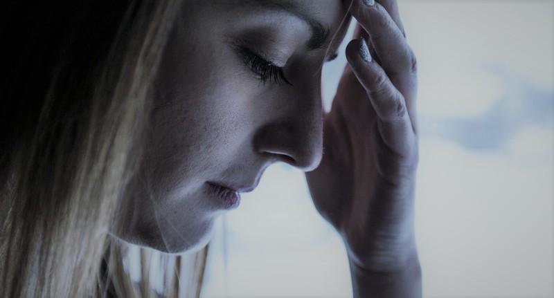 Girl with Seasonal Affective Disorder