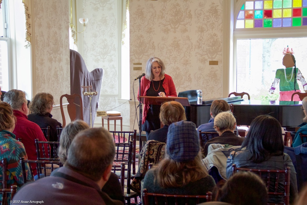 Aliki Reading at the Unbound Book Festival, Columbia, MO, 2017