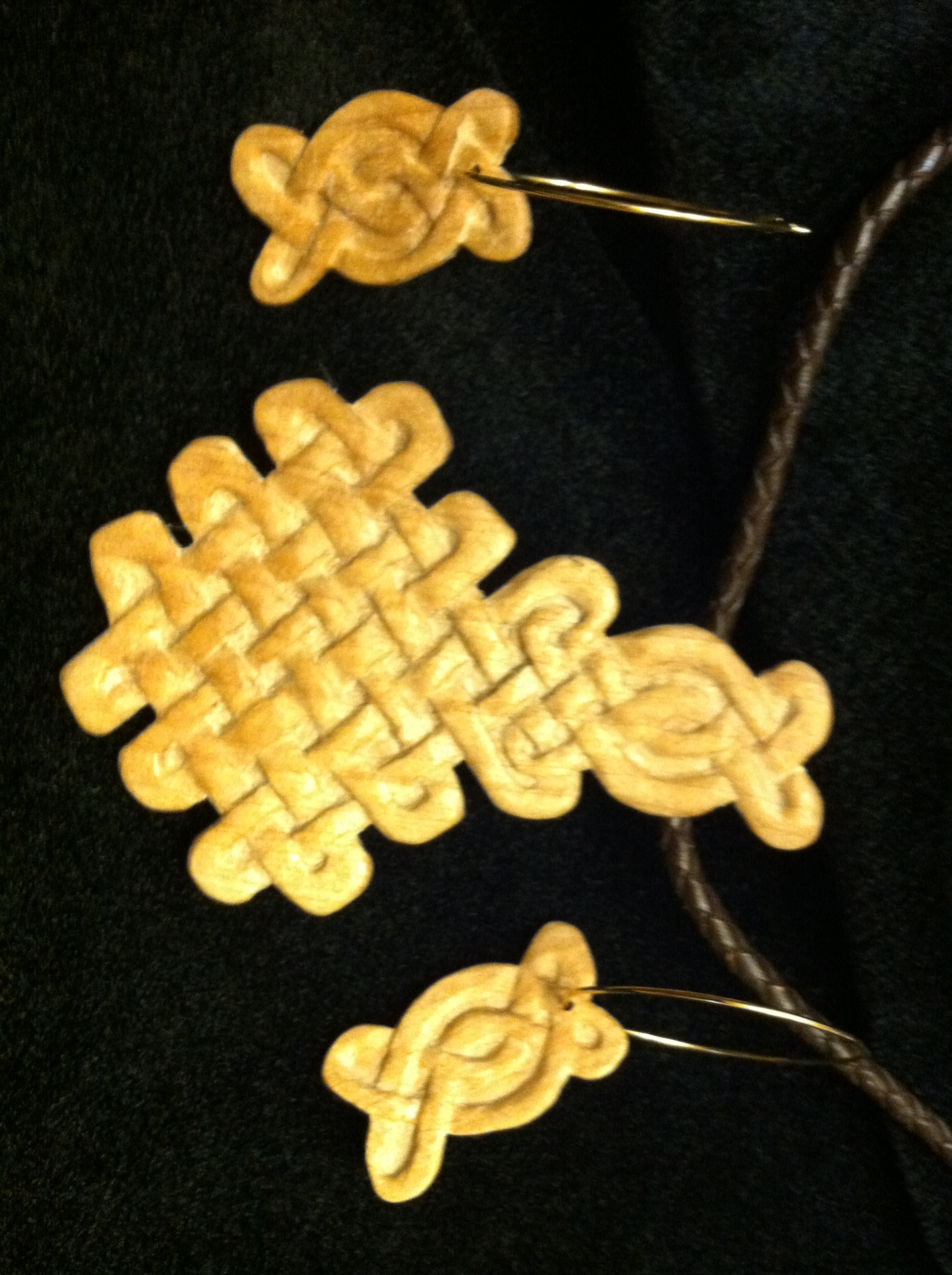 Celtic Knot Wood Jewelry