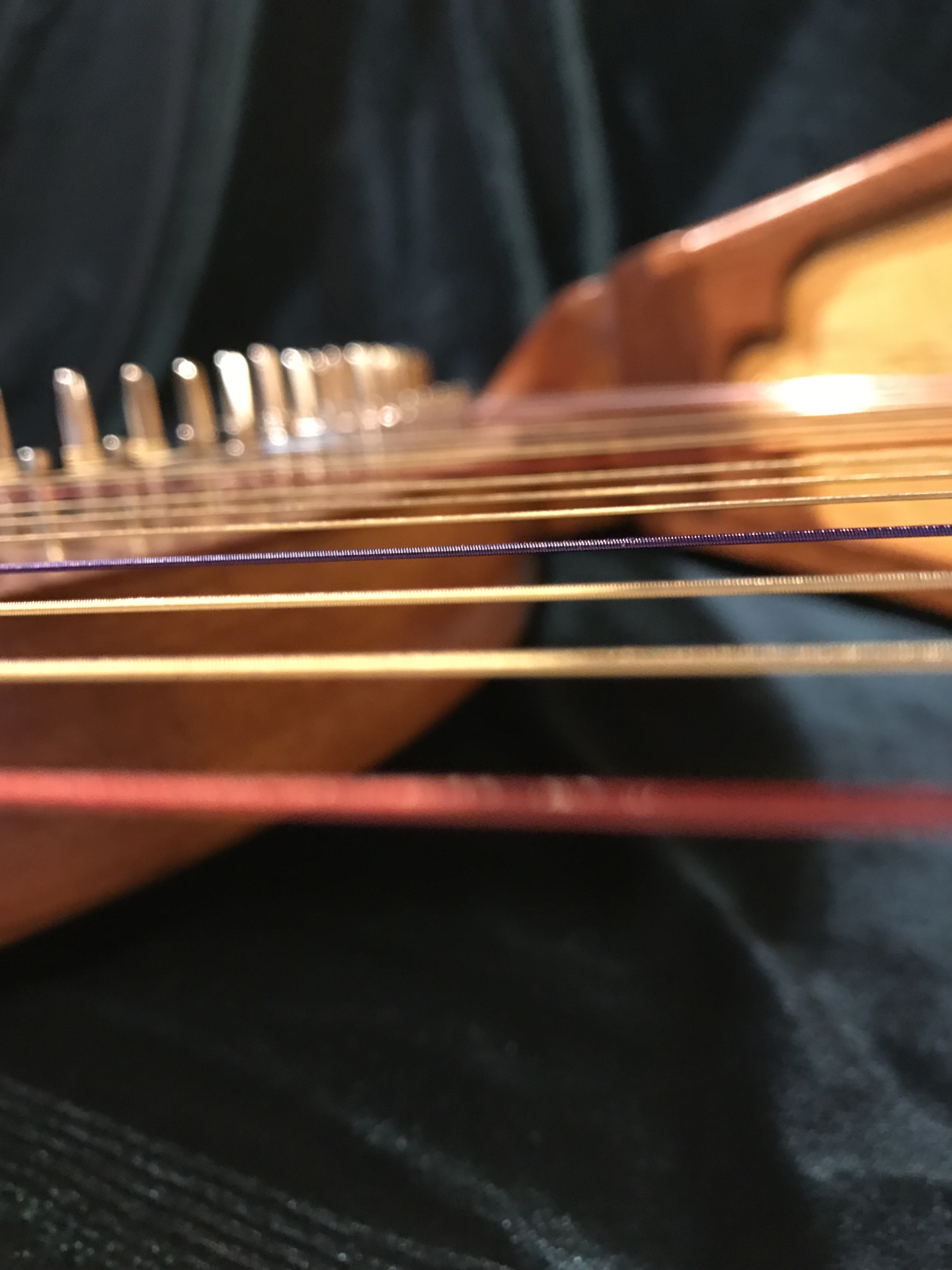 Harp stringing & tuning