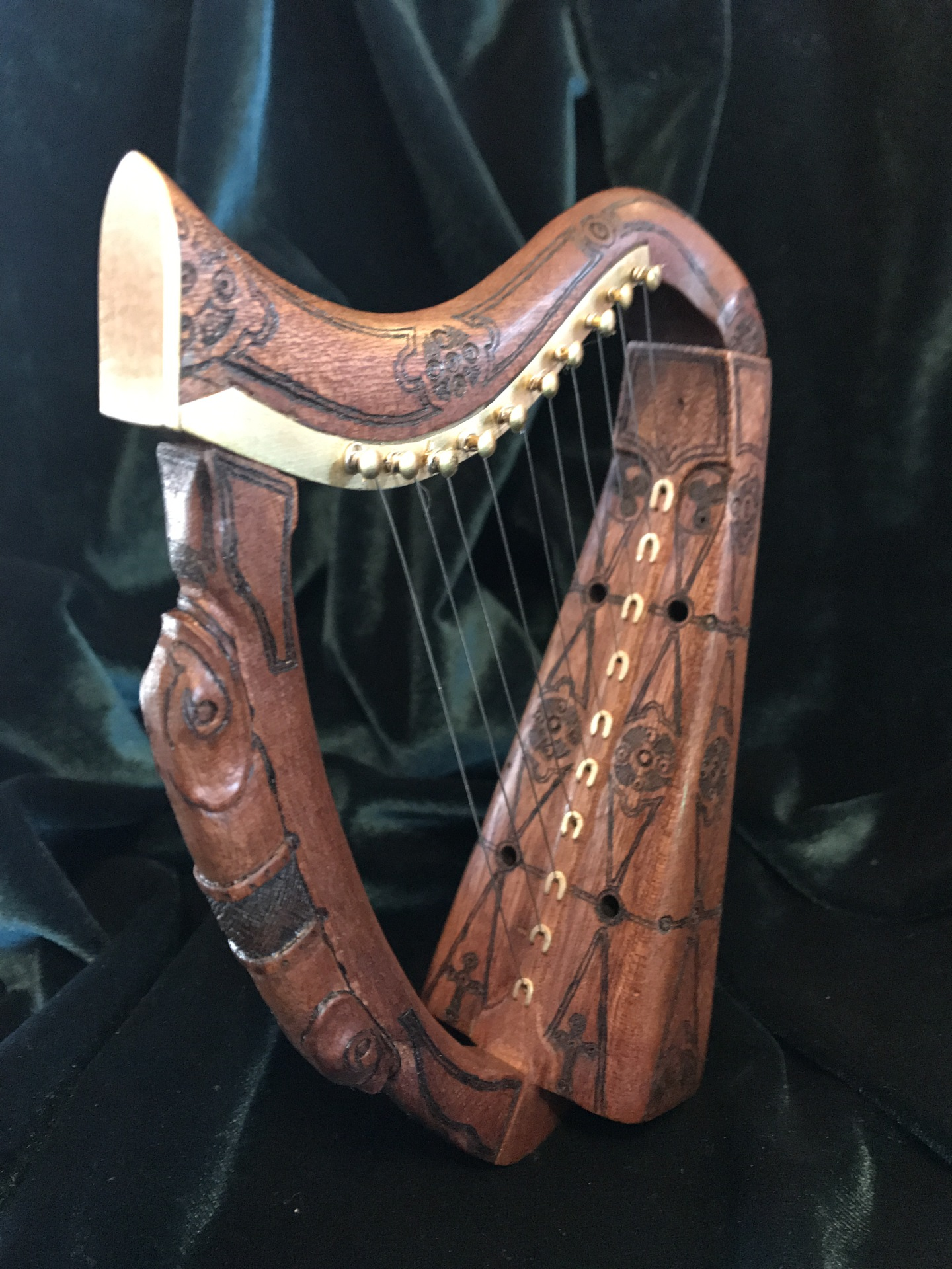 Miniature Celtic Harp