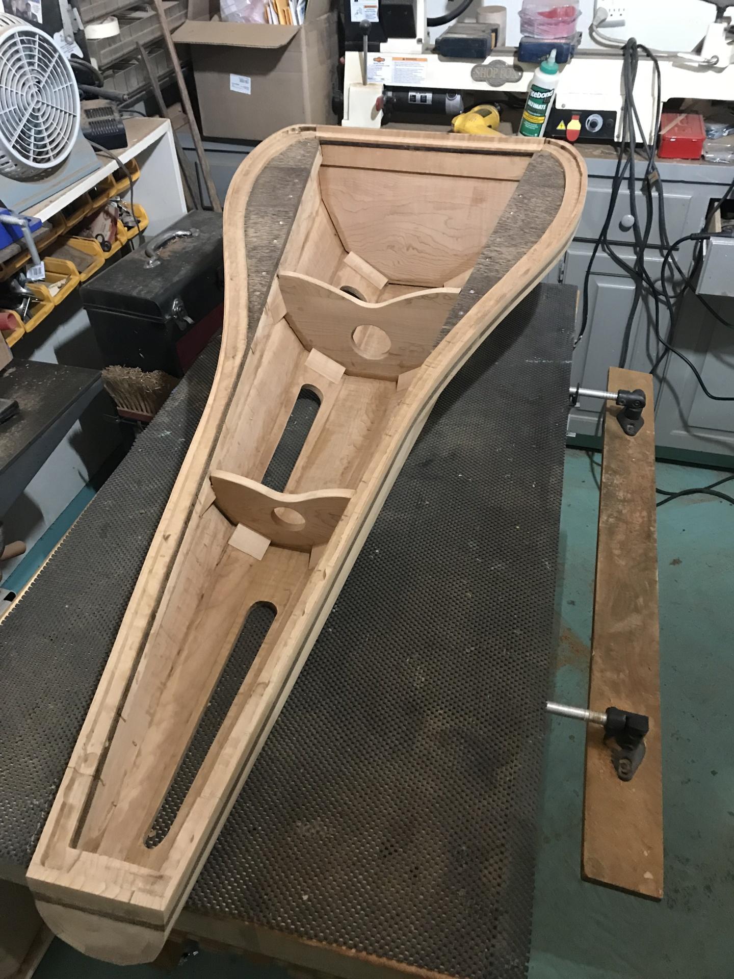 Harp Construction