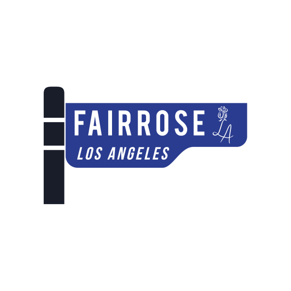 FairRose LA Street Sign Logo