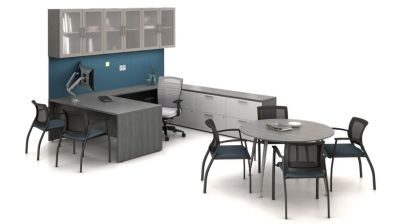 Desks/Storage/Seating
