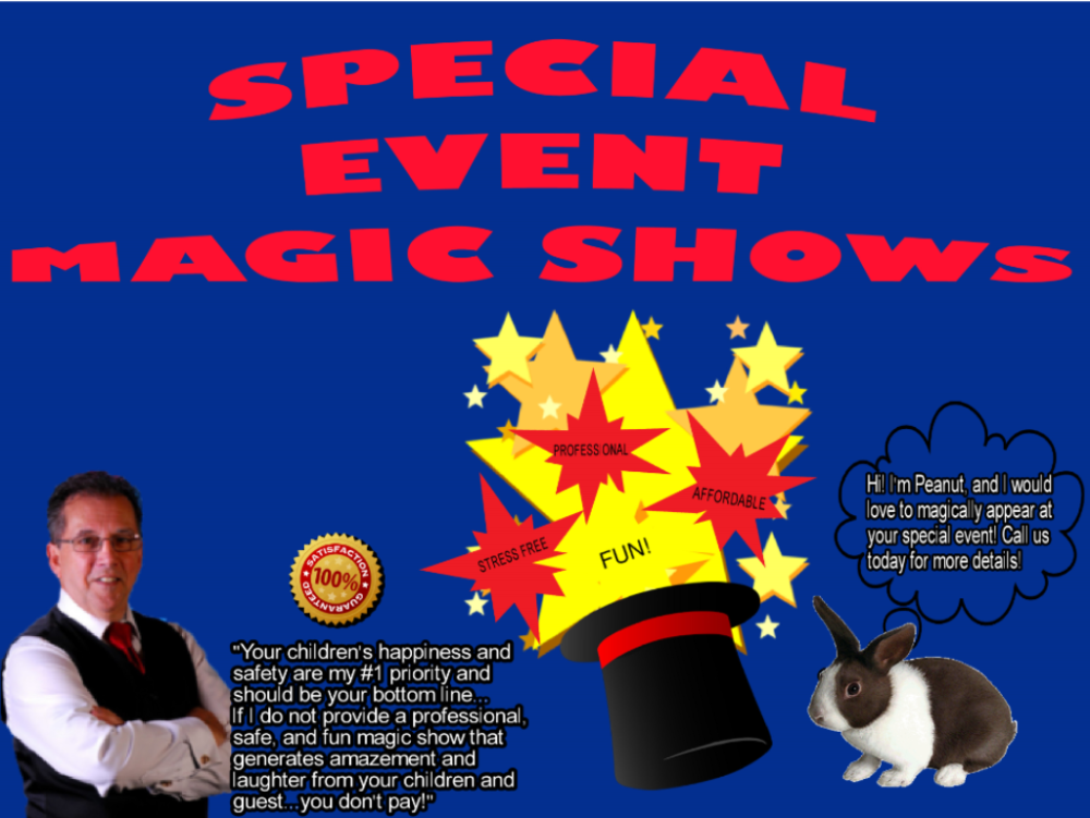 Special Event Magic Shows For Kids In KS & MO