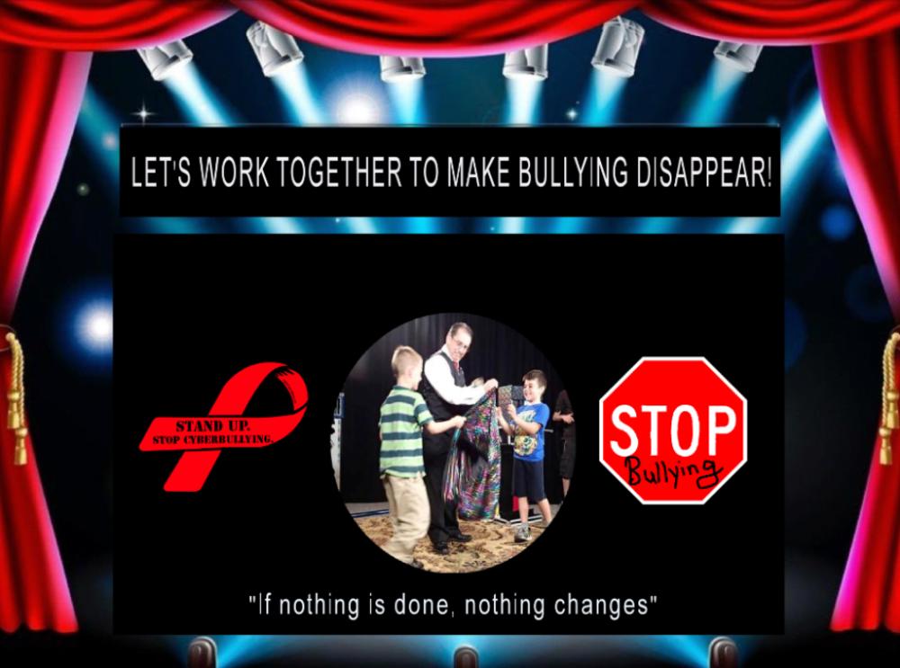 No bullies allowed magic shows