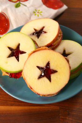 Fun Gluten Free PB&J Apples