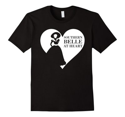 Southern Belle at Heart T-Shirt