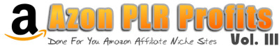 Azon PLR Profits V3 review & massive +100 bonus items