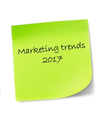 Marketing trends and what you should focus on in 2017