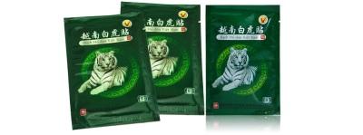 Parches tigre blanco