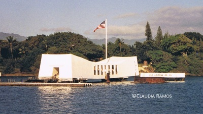 USS Arizona Memorial, Pearl Harbor, Hawaii