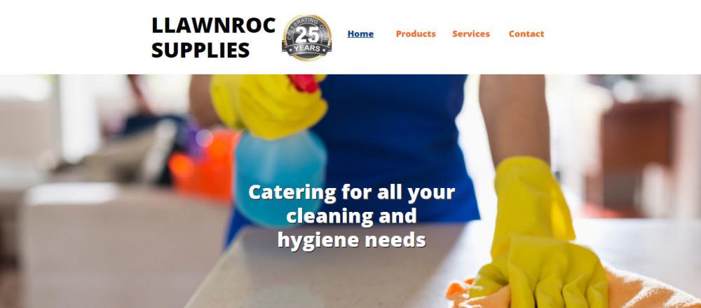 New website for Llawnroc Supplies