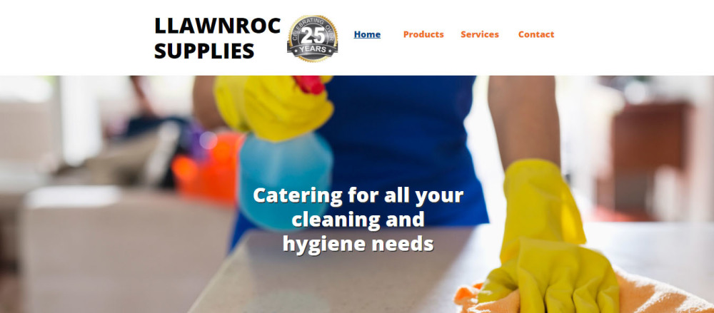 New website for Llawnroc Supplies