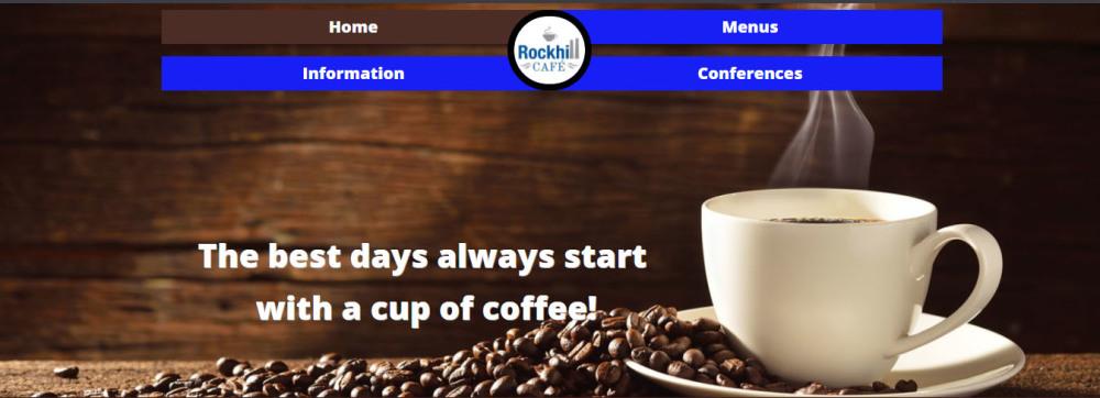 Rockhill Cafe Website