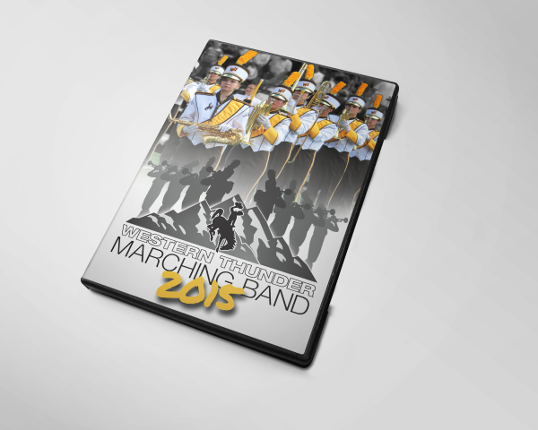 Western Thunder Marching Band DVD Cover