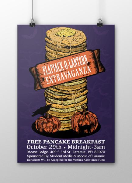 Pancake Extravaganza Poster