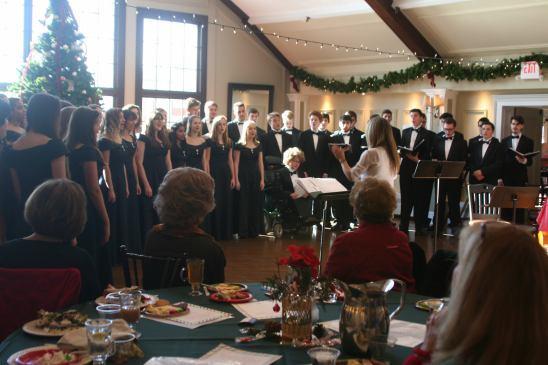 Sparta High Choir entertains us at our Dec 2017 General Meeting