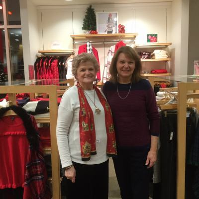 Our Talbot's Shopping Fundraiser adds to our Holiday festivities-Dec 2017