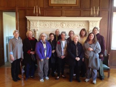 Out To Lunch Bunch Tours Rutherfurd Hall - Apr 2018