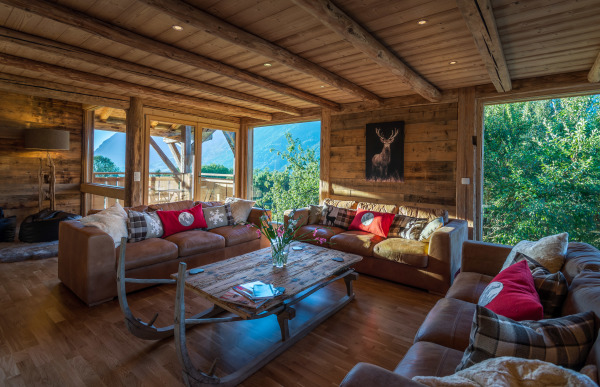 Antique beams & picture windows in this renovated alpine chalet | Renovation Solutions