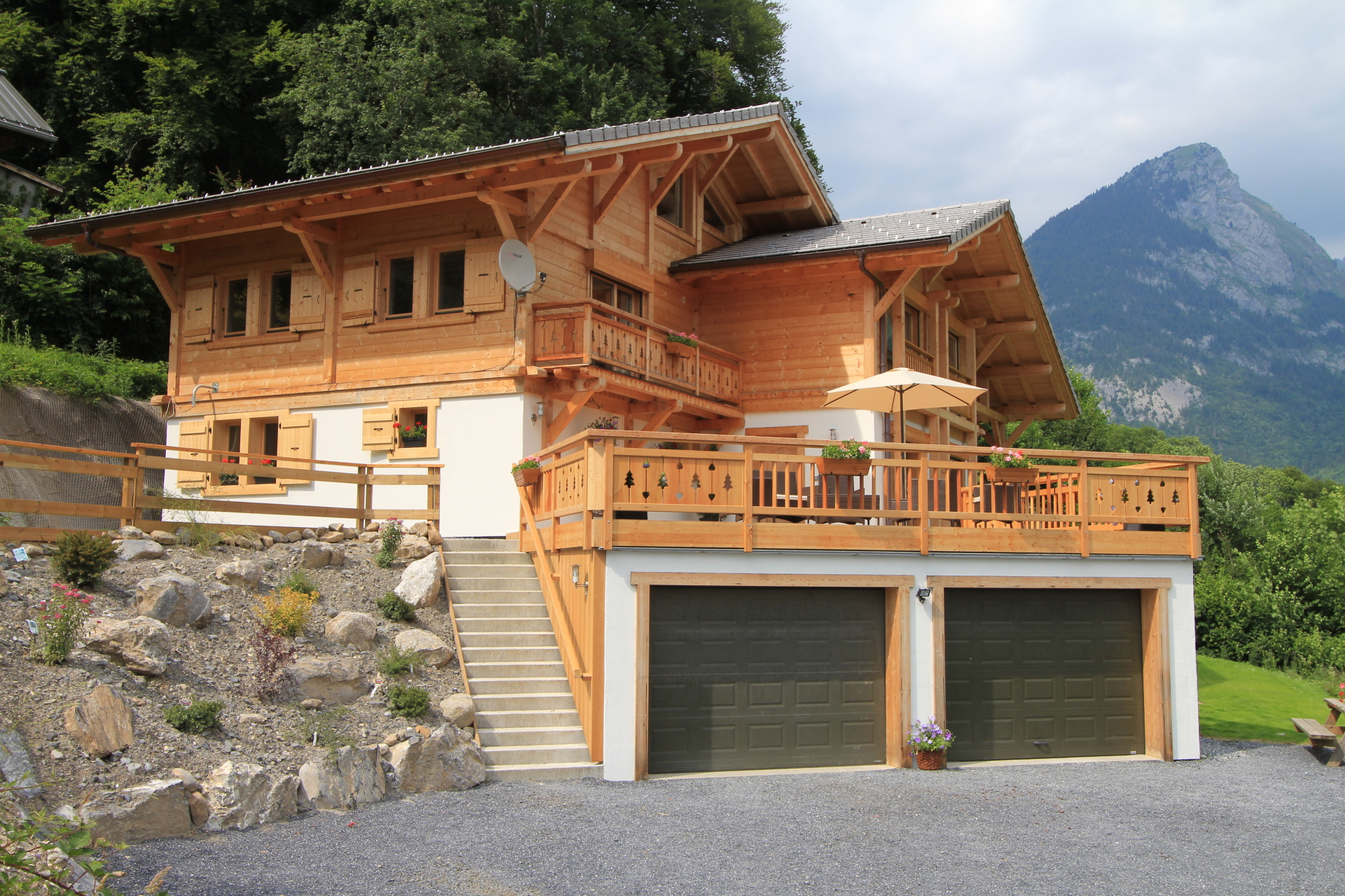 New balconies, terrace & landscaping on Samoens chalet | Renovation Solutions