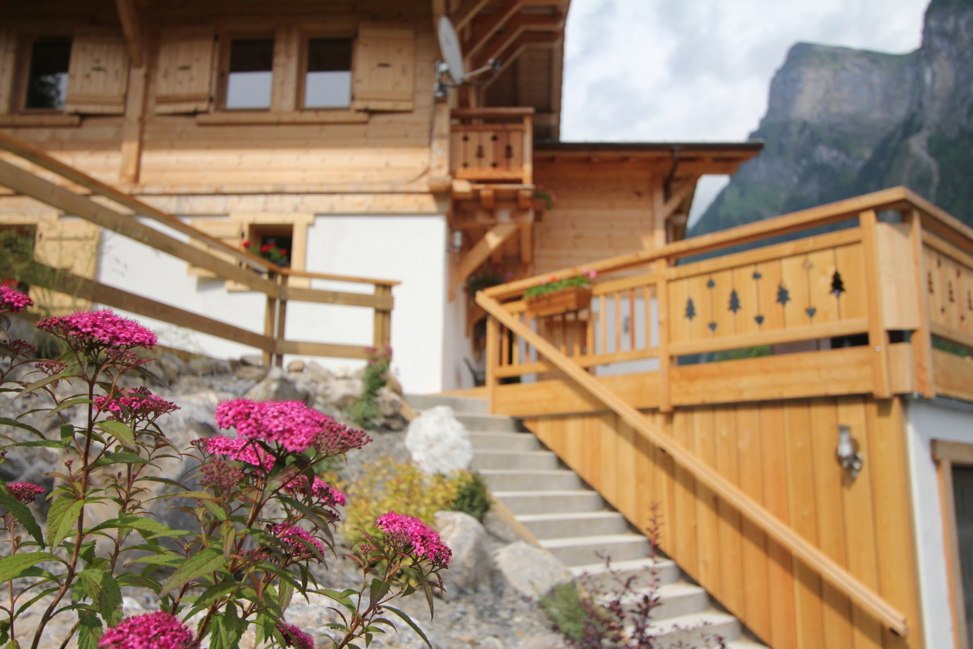 Landscaping and ballustrades | Renovation Solutions, Samoens
